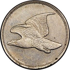 (1858) J-219 1C PF obverse