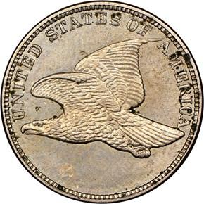 (1858) J-219 1C PF reverse