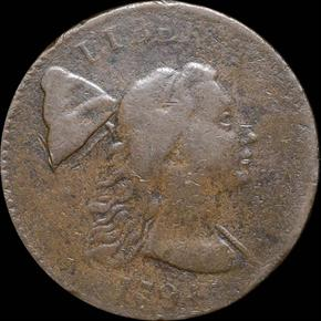 1794 HEAD OF 93 1C MS obverse