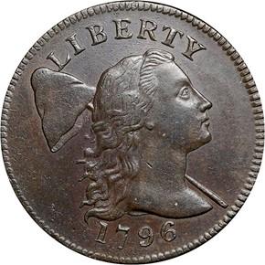 1796 LIBERTY CAP 1C MS obverse