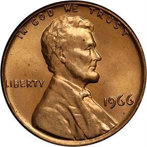 1966 1C MS obverse