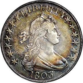 1803 50C MS obverse