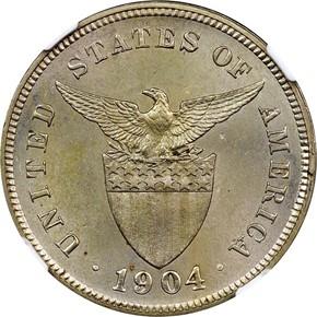 1904 USA-PHIL 5C MS reverse