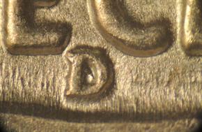 1938 D/S BUFFALO 5C MS reverse