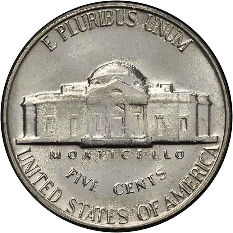 1969 D 5C MS Jefferson Five Cents | NGC