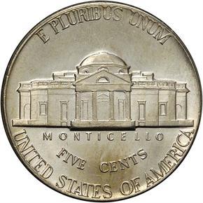 1971 D 5C MS reverse