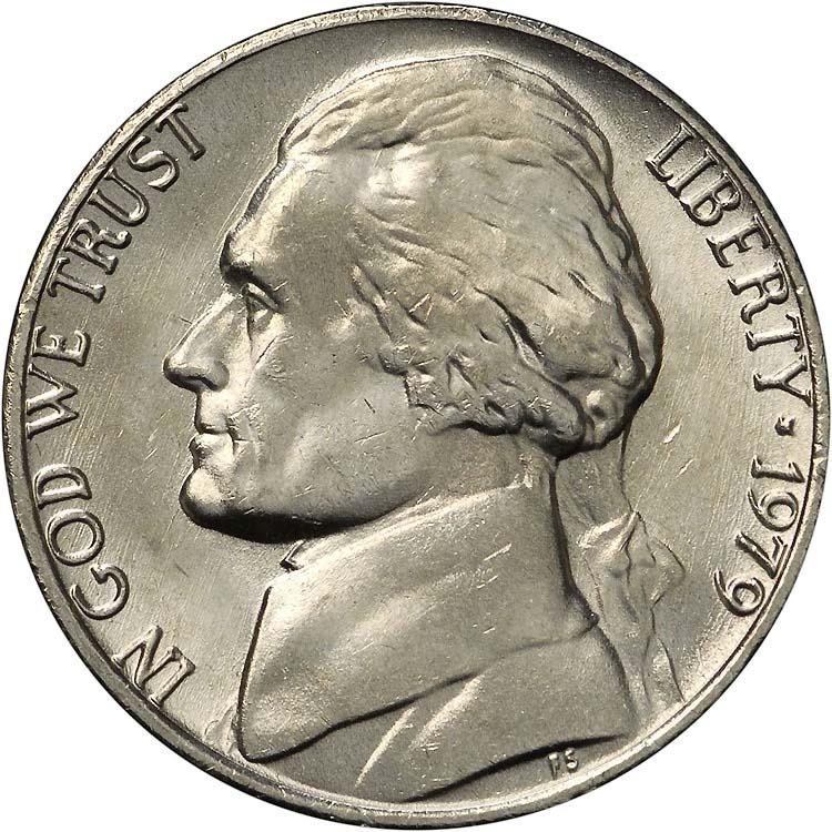 1979 5C MS Jefferson Five Cents | NGC