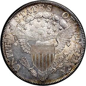 1807 DRAPED 50C MS reverse