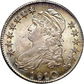 1810 50C MS obverse