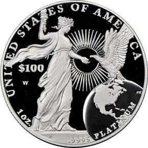 2015 W EAGLE P$100 PF reverse