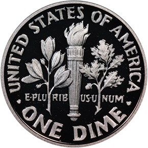 2015 W SILVER MARCH OF DIMES SET 10C PF reverse