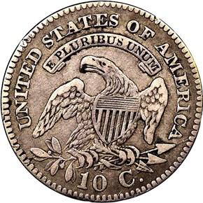 1825 10C MS reverse
