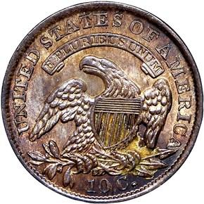 1833 10C MS reverse