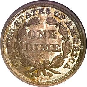 1841 O 10C MS reverse