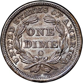 1856 O 10C MS reverse