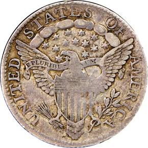 1801 10C MS reverse