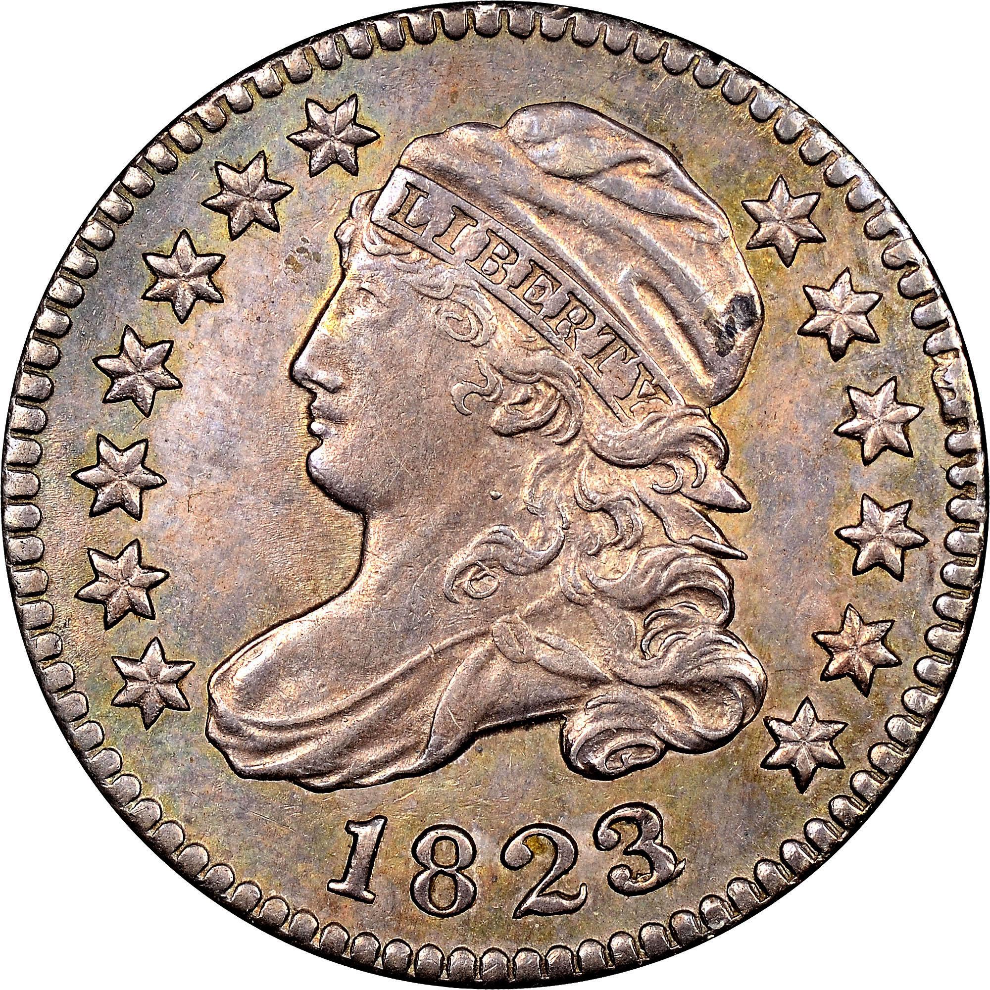 1823/2 10C MS obverse ...