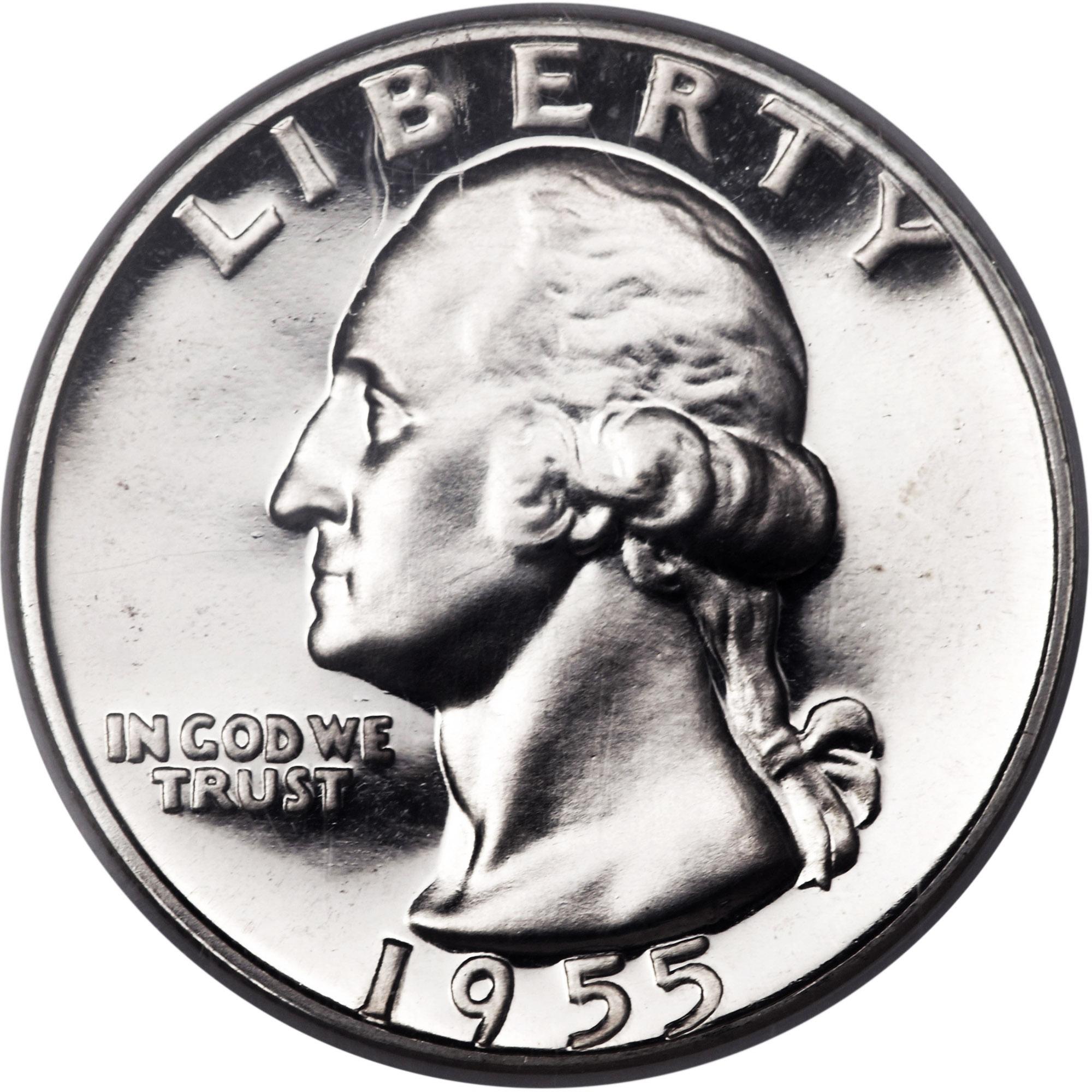 1956 Proof Washington Quarter certified PF 66 by NGC!