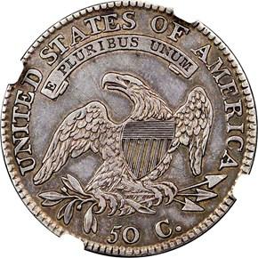 1812/1 LARGE 8 50C MS reverse