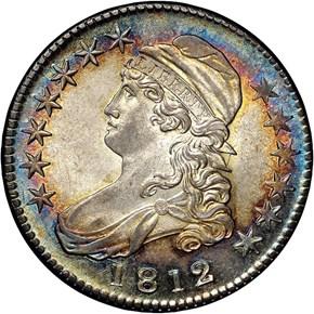 1812 50C MS obverse