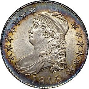 1815/2 50C MS obverse