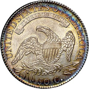 1815/2 50C MS reverse