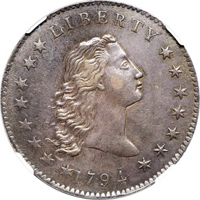 1794 BB-1,B-1 $1 MS obverse