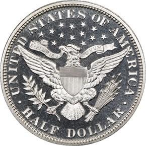1893 50C PF reverse