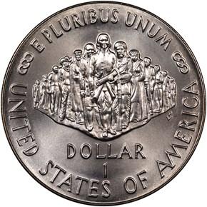 1987 P CONSTITUT S$1 MS reverse