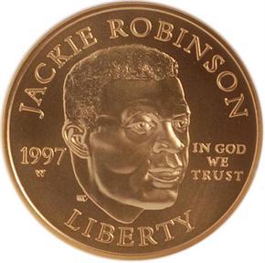 1997 W ROBINSON $5 MS obverse