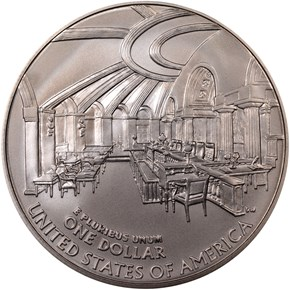 2005 P JOHN MARSHALL S$1 MS reverse