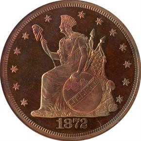 1872 J-1217 T$1 PF obverse