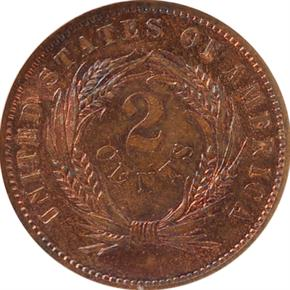 1864 J-366 2C PF reverse