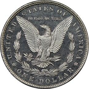 1894 $1 MS reverse