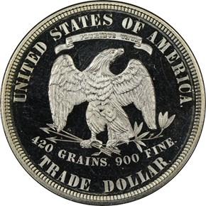 1880 T$1 PF reverse