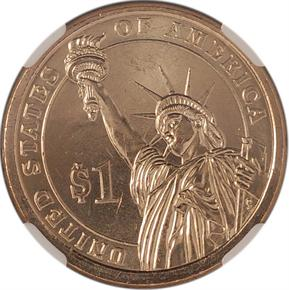 2007 P GEORGE WASHINGTON $1 MS reverse