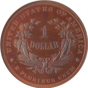 1877 J-1542 S$1 PF reverse