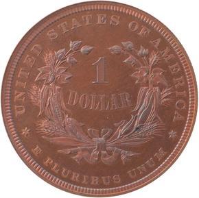 1877 J-1543 S$1 PF reverse