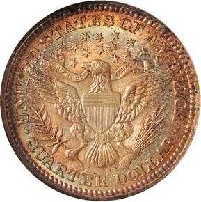 1913 S 25C MS reverse