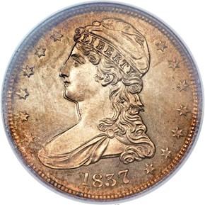 1837 50C SP obverse