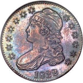 1832 50C PF obverse
