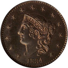1834 1C PF obverse
