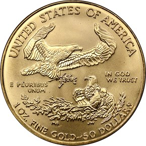 2000 EAGLE G$50 MS reverse