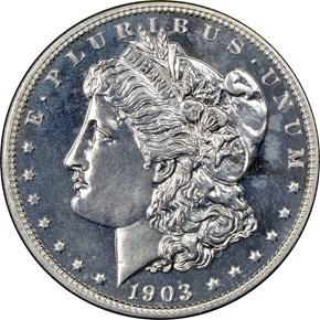 1903 $1 PF obverse