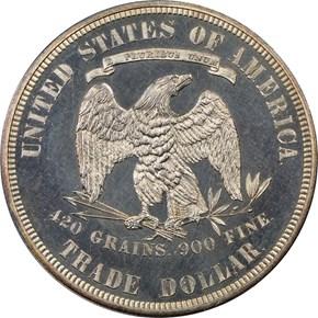 1878 T$1 PF reverse