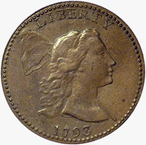 1793 LIBERTY CAP 1C MS obverse