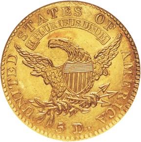 1814/3 BD-1 $5 MS reverse