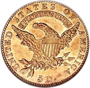 1825/4 PARTIAL 4 BD-1 $5 MS reverse
