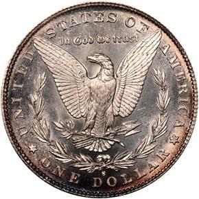 1881 S S$1 MS reverse