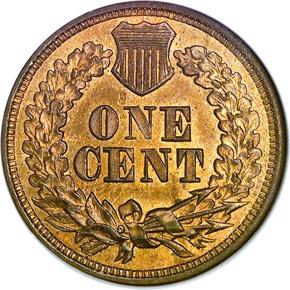 1866 1C MS reverse